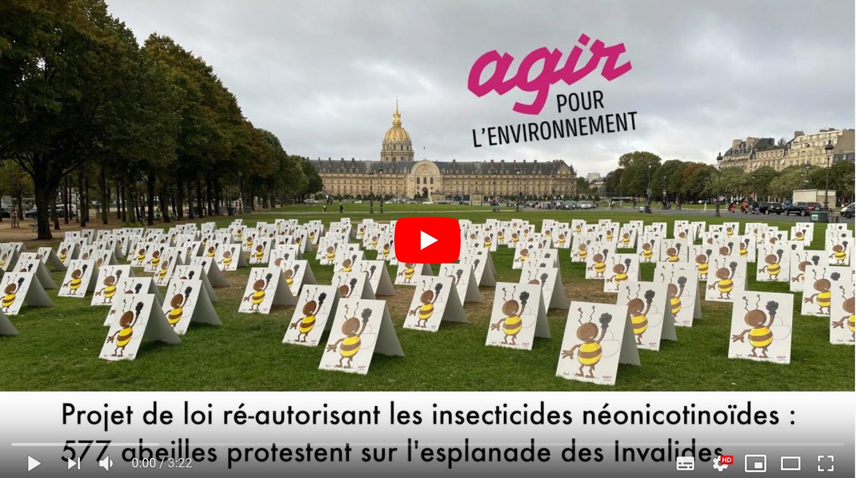 Visionnez la vidéo de l'action initiée par Agir pour l'Environnement