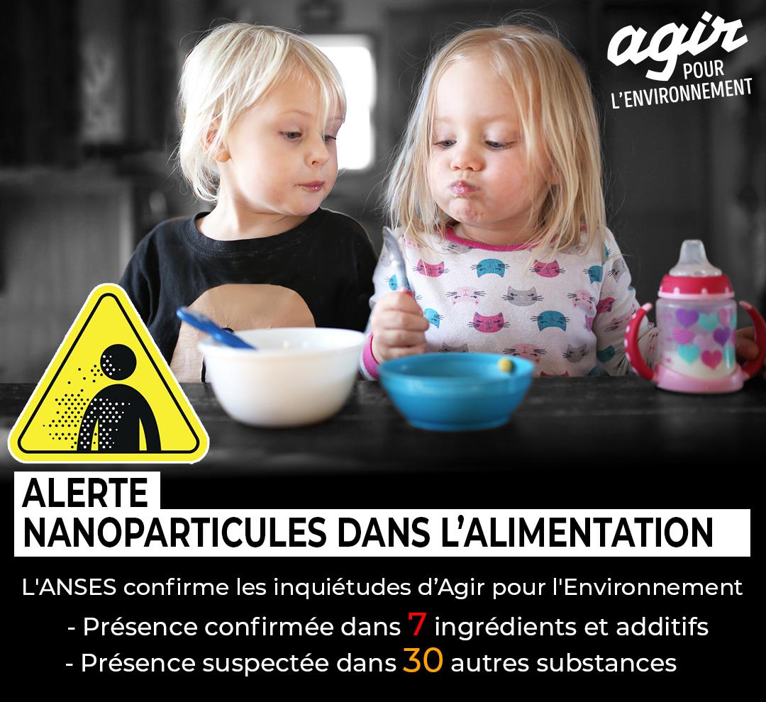 Alimentation, cosmétiques, médicaments : STOP AUX NANOS !!!